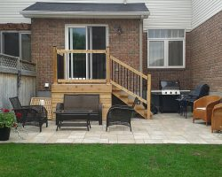 Backyard Patio and Deck