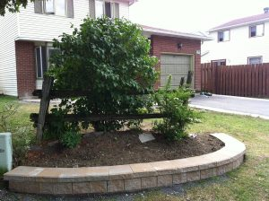 Frontyard Garden Wall