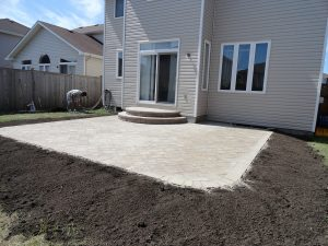 New Backyard Patio