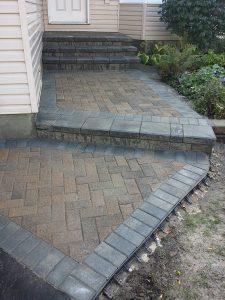 New Walkway Steps