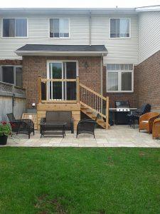 Backyard Patio and Deck
