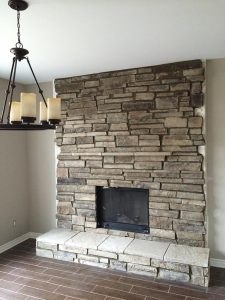 Fireplace Accent Wall