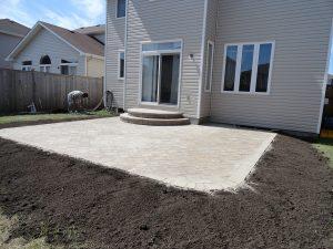 New Backyard Patio