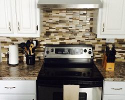 Kitchen Upgrade - New Cabinets and Backsplash